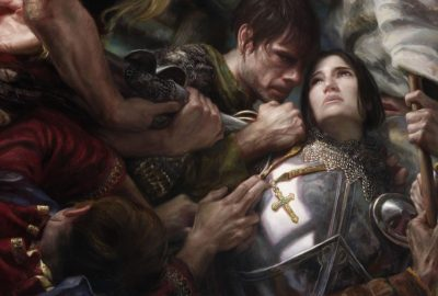 Donato Giancola - Joan of Arc - oil painting